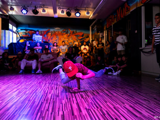 Breakdance und HipHop-Tanzkurs
